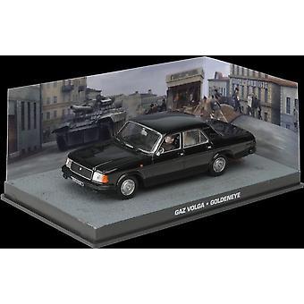 GAZ Volga Diecast Model auto van James Bond GoldenEye