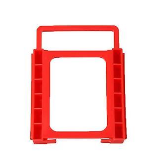 Držák pevného disku Červený plastový montážní adaptér