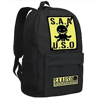 Corosensei Assassination Classroom Sac d'école sac à dos noir