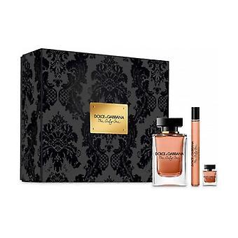 Confezione regalo l'unica eau de parfum 100ml + l'unica eau de parfum spray 10ml + l'unica unità eau de parfum mini 7.5ml 1