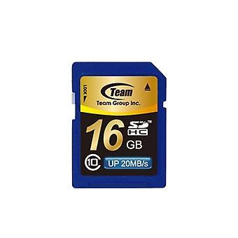 Csapat 16GB SDHC Class 10 flash kártya