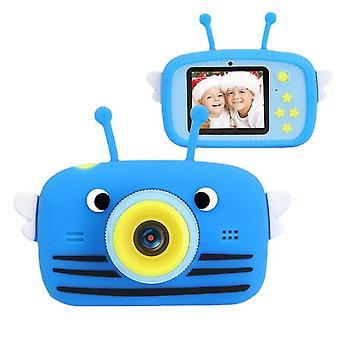 Sininen vatsa kannettava full-hd 1080p digitaalinen minikamera lapsikamera az12246