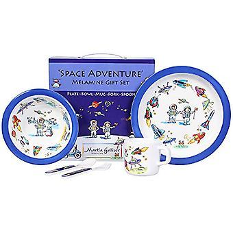 Space Adventure 7 Piece Melamine Dining Set