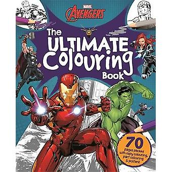 Marvel Avengers The Ultimate Colouring Book Mammoth Colouring Marvel