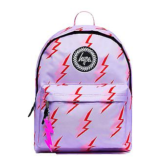Hype Lightning School Sports Gym Fashion Backpack Rucksack Bag Lilac