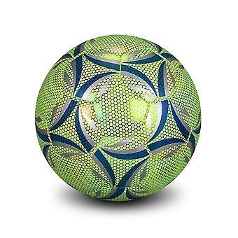Reflecterend voetbal geleide training voetbal