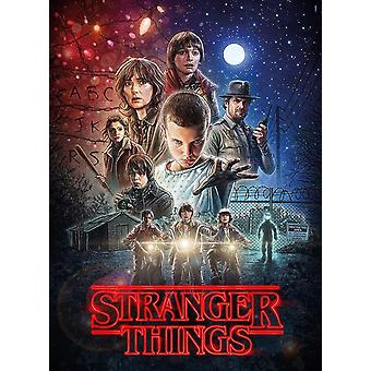 Clementoni Stranger Things 1  Jigsaw Puzzle (500 Pieces)