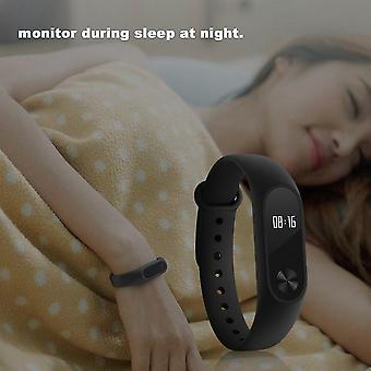 0,42 Zoll Oled Smartband Bluetooth Herzfrequenz Monitor Gesundheit Fitness Tracker