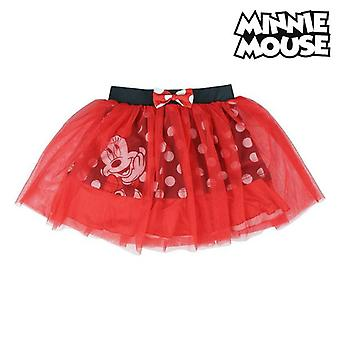 تنورة ميني ماوس تول الأحمر