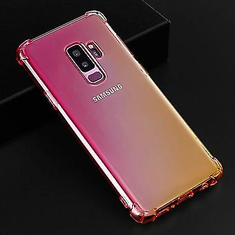 Beautiful Shockproof TPU Case with Airbag for Samsung Galaxy J2 Core - Pink & Gold