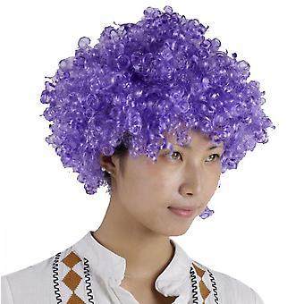 Party Supplies Festive Color Wig Funny Clown(Purple)