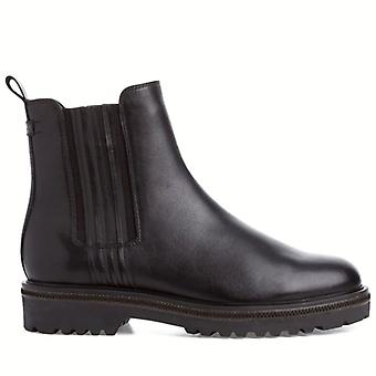 Tamaris Women's Ankle Boots In Black Leather