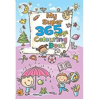 Meine Super 365 Seiten Färbung