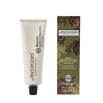 AntiPodes glädjas Light Facial Day Cream, 60ml