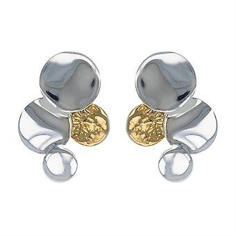 ADEN 925 Sterling Zilveren Oorbellen (id 5257)