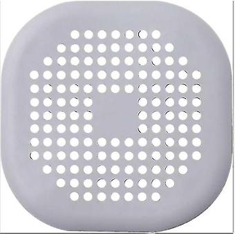 Shower water filters square bathtub drain stopper hair stopper with suction cup  easy to install  for bathroom  bathtub