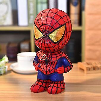 (Spider Man) Avengers Marvel Batman Captain America Sparschwein