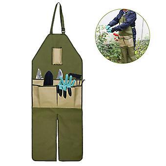 Mimigo Oxford Stoff Leggings mit Werkzeugtaschen Schnallen Pflücken Schürze Obstgarten Anti-schmutzige Kleidung Holzbearbeitung Schürze Arbeit Schürzen