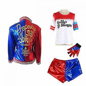 Harley Quinn Halloween Cosplay Costume For Kids