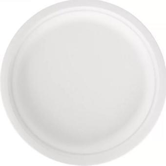 En engangsplate Husholdningsapparat Engangs servise Spis papirkake Miljøvernrett Tykk Platons Desechables 25 50 Stk
