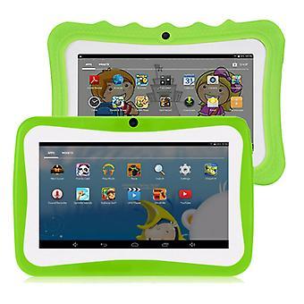 """7"""" Kids Tablet Android Tablet Pc 8 Gb Rom 1024 * 600 Resoluutio Wifi Kids Tablet Pc, Vihreä"""