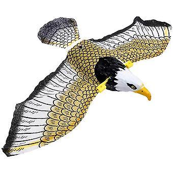 Caraele Elektronický lietajúci orol luminiscenózny visiaci vták s hudobným pest repelent záhradou Decro