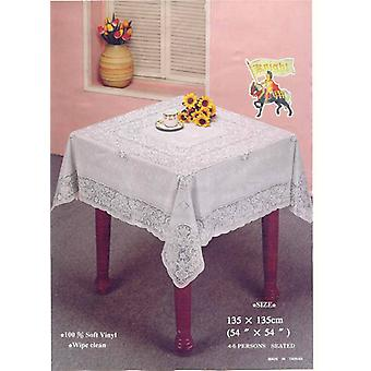 54in Square Lace Table Cloth