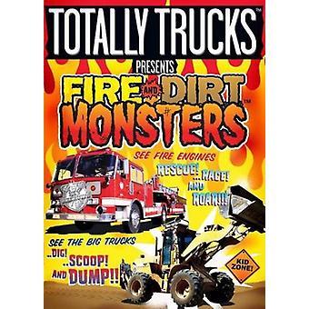 Feuer & Schmutz-Monster [DVD] USA import