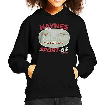 Haynes Eagle Team Racing Motor Oil Kid's Hooded Sweatshirt