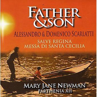 Mary Jane Newman - Father & Son: Alessandro & Domenico Scarlatti [CD] USA import