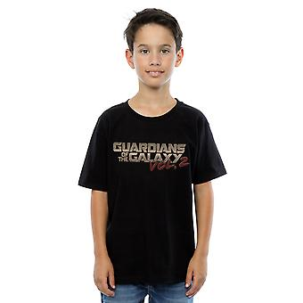 Marvel Boys Guardians Of The Galaxy Retro Logo T-Shirt