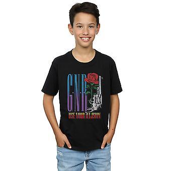 Guns N Roses garçons utilisent votre T-Shirt de Rose Illusion
