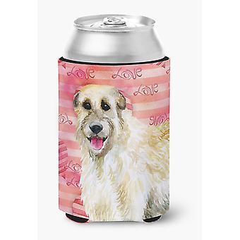 Carolines Treasures  BB9757CC Irish Wolfhound Love Can or Bottle Hugger