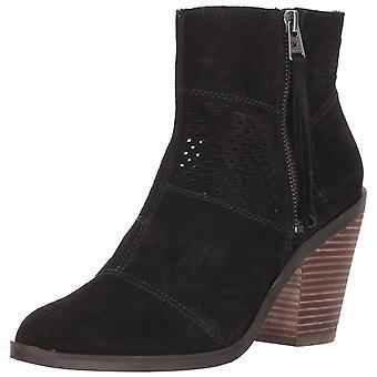 الجلود رمسيس المرأة محظوظاً العلامة التجارية مغلقة إصبع القدم الكاحل أحذية أزياء