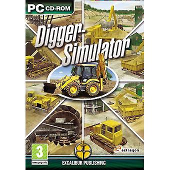 Digger Simulator (PC CD)-fabriken förseglad