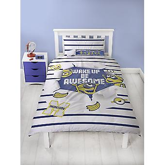 Despicable Me Awesome Single Duvet Cover Quilt Cover Bedding Set Polycotton