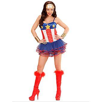 Costume da super eroe ragazza