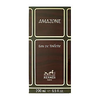 Hermes Amazone Eau De Toilette Splash 6,5 Oz/200 ml neu In Box (Vintage)