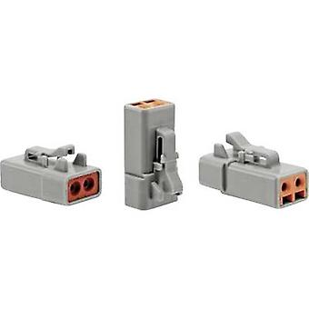 Amphenol ATP06 2S Bullet connector Socket, straight Series (connectors): AT 1 pc(s)