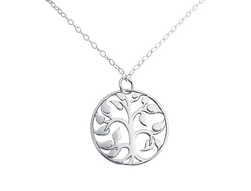 Neuer Modestil von Fantastisk pris Baum des Lebens - Kette silber - Halskette – Anhänger – LEBENSBAUM - 925 Silber 8sFCe