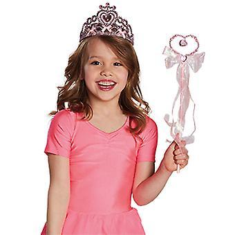 Accessorio di fata bacchetta cuore bambini Fata strega strega Carnevale
