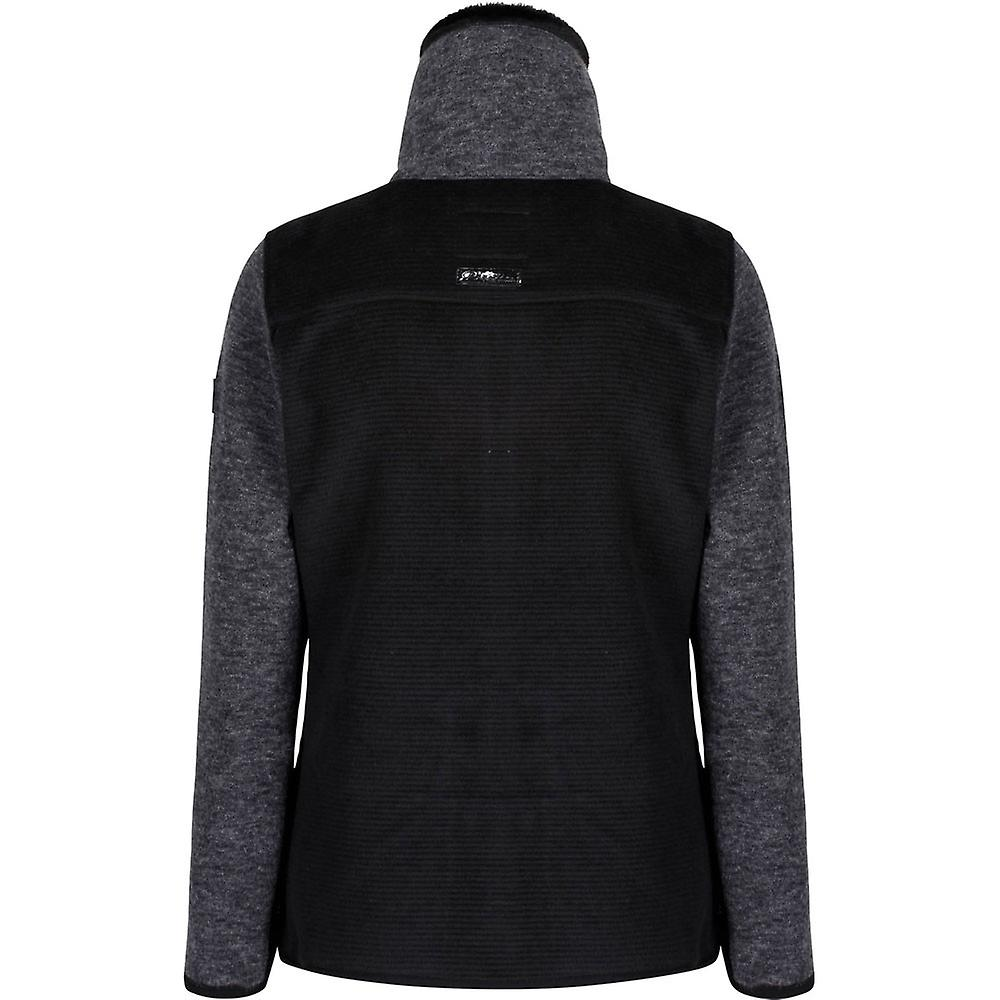 Regatta Women/'s Zuena Mix Wool Effect Fleece Grey