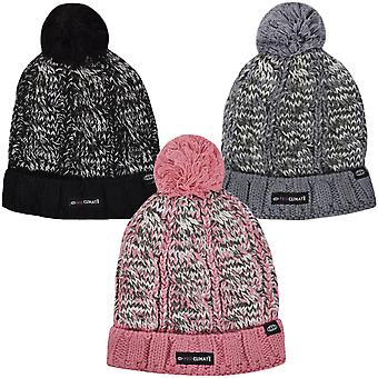 ProClimate wasserdicht Thinsulate Winter Chunky Knit Pom Bommel Mütze Beanie