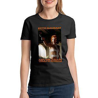 T-shirt noir le cinquième élément Ecto Gammat féminin