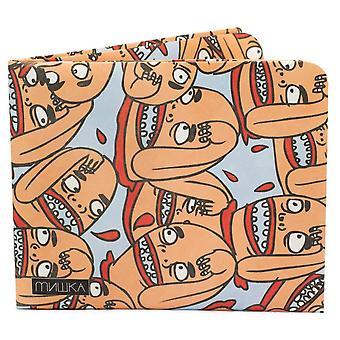 Бумага Twerps кошелек тонкий бумажник - синий/оранжевый