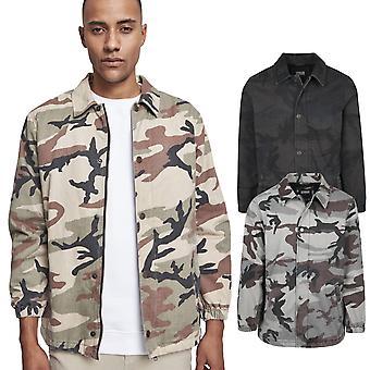 Urban classics - cotton coach jacket camouflage