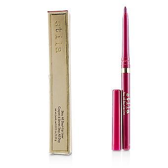 Stila Stay All Day Lip Liner - # Merlot (bright Berry) - 0.35g/0.012oz