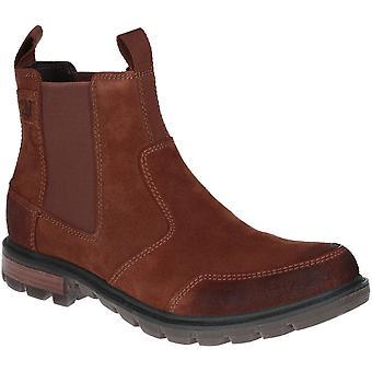 Caterpillar Mens Economist Lightweight Leather Chelsea Boots