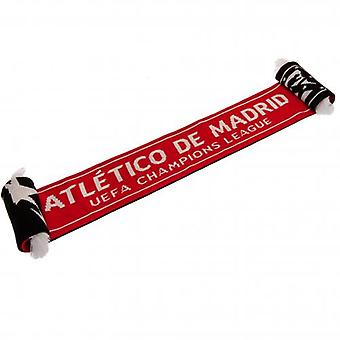 Atletico Madrid Champions League Scarf