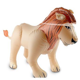 Opblaasbare Leeuw Aufblastier jungle opblaasbare Leeuw 48x80cm